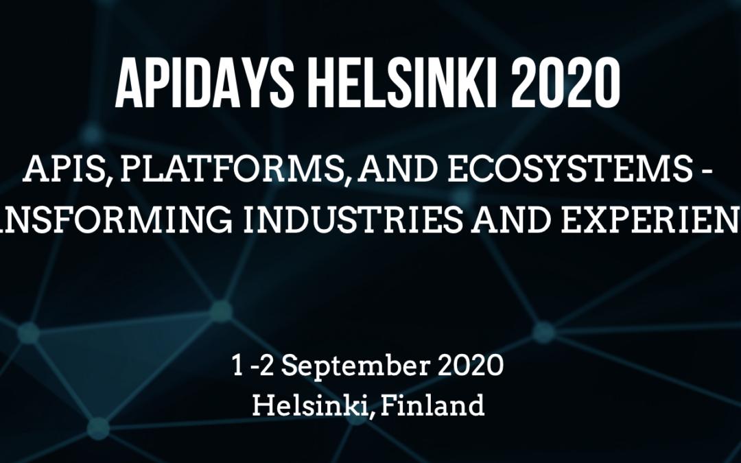 APIDays Helsinki 2020