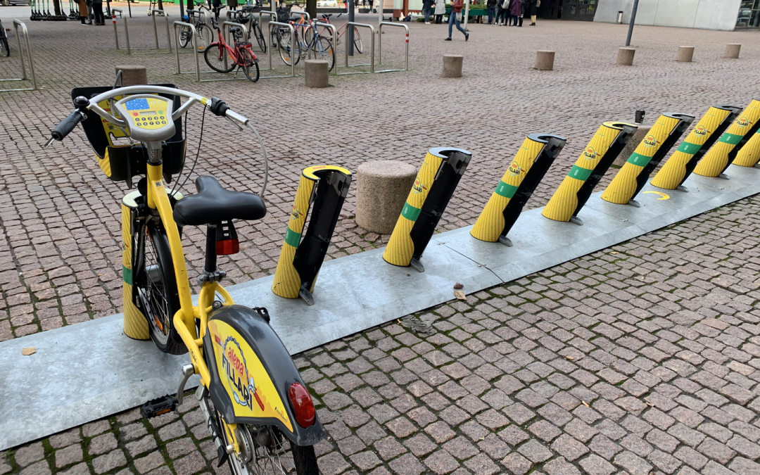 Helsinki and Espoo Pilots City Bike Availability Service